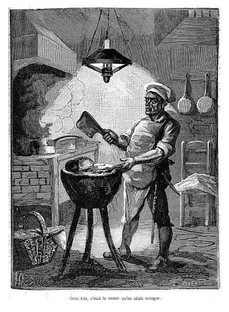 """Résultat de recherche d'images pour """"La légende du barbier et du pâtissier de l'île de la cité"""""""